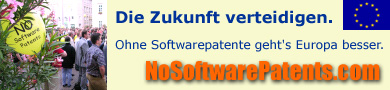 say no to software patents